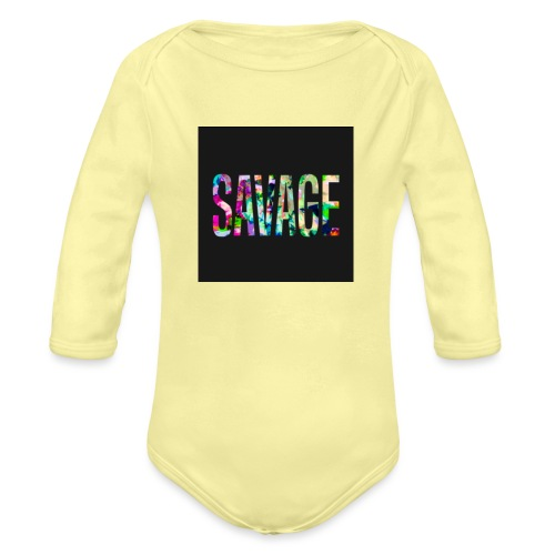 Savage Wear - Organic Long Sleeve Baby Bodysuit