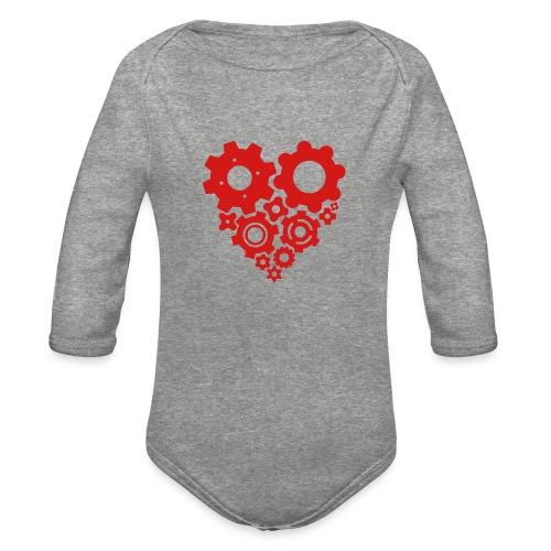 gearheart - Organic Long Sleeve Baby Bodysuit