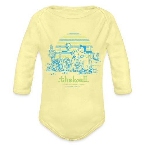 PonyWinThelwell Cartoon - Organic Long Sleeve Baby Bodysuit