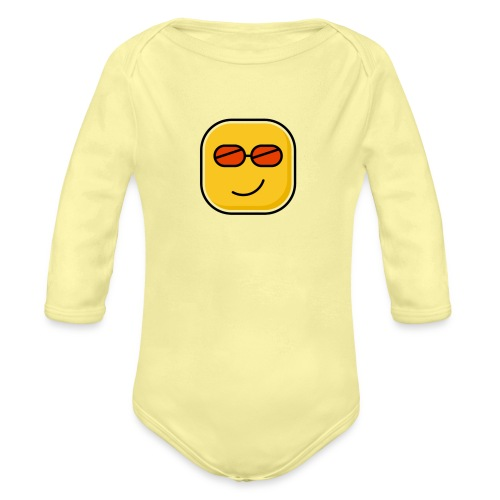 Lovely - Organic Long Sleeve Baby Bodysuit