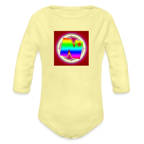 Nurvc - Organic Long Sleeve Baby Bodysuit