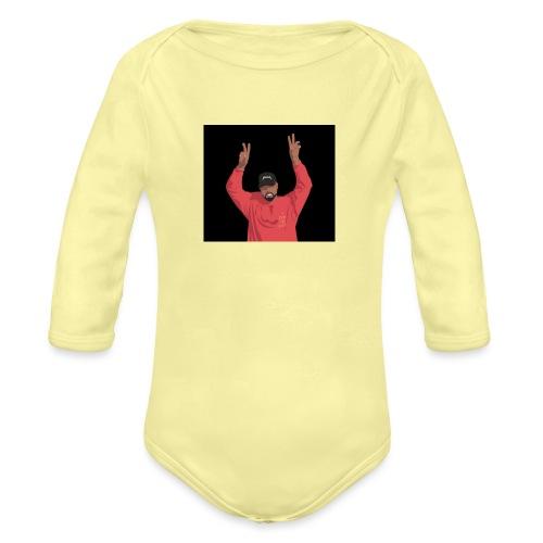 yeezus - Organic Long Sleeve Baby Bodysuit