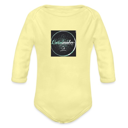 Originales Co. Blurred - Organic Long Sleeve Baby Bodysuit