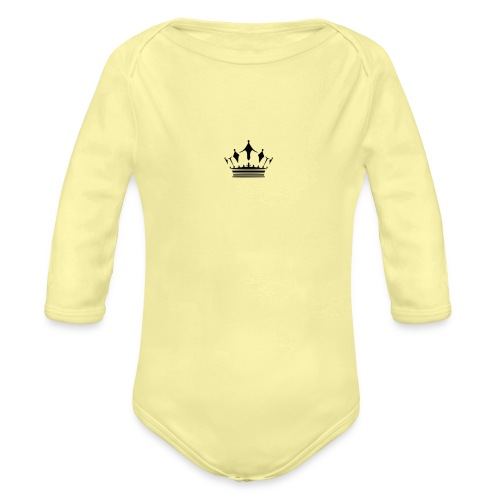 Royalty Talk - Organic Long Sleeve Baby Bodysuit