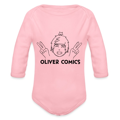 New LOGO - Organic Long Sleeve Baby Bodysuit