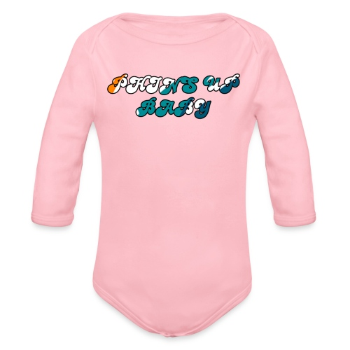 PHINS UP BABY - Organic Long Sleeve Baby Bodysuit