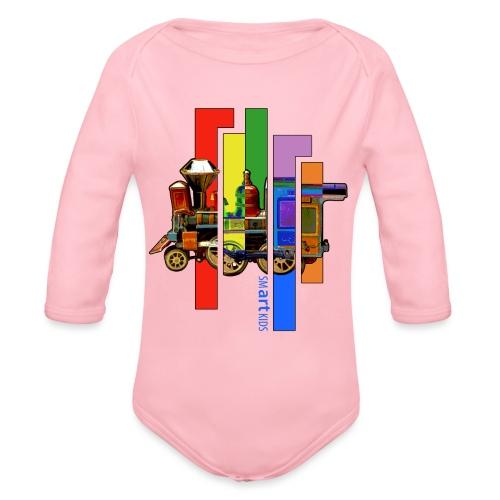 smARTkids - Coco Locomofo - Organic Long Sleeve Baby Bodysuit