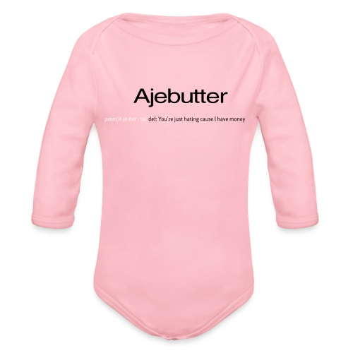 ajebutter - Organic Long Sleeve Baby Bodysuit