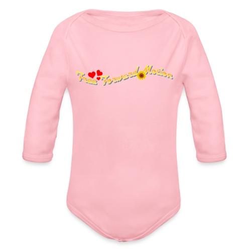 Free Forward Motion - Organic Long Sleeve Baby Bodysuit