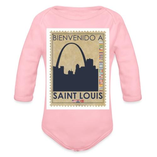 Bienvenido A Saint Louis - Organic Long Sleeve Baby Bodysuit