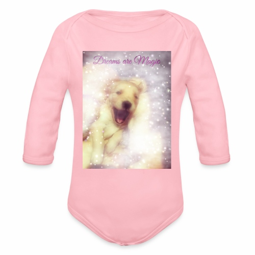 Dreams are Magic - Organic Long Sleeve Baby Bodysuit