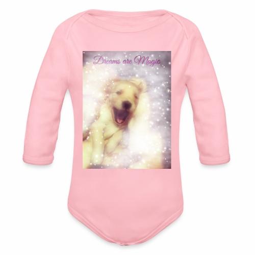 Dreams are Magic - Organic Long Sleeve Baby Bodysuit
