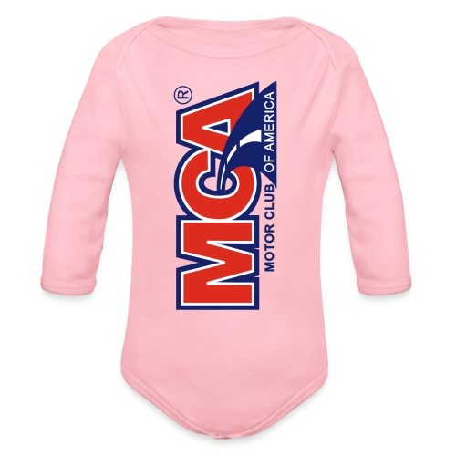 MCA Logo Iphone png - Organic Long Sleeve Baby Bodysuit