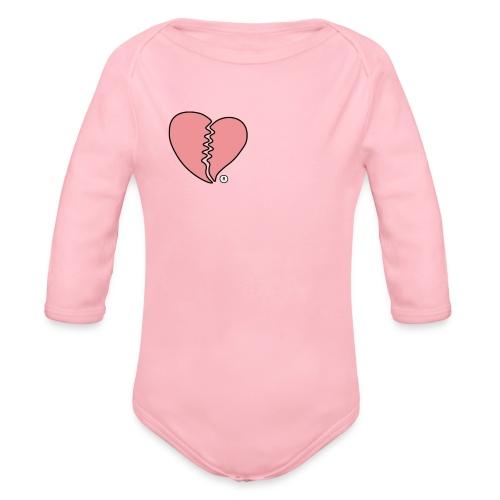 Heartbreak - Organic Long Sleeve Baby Bodysuit