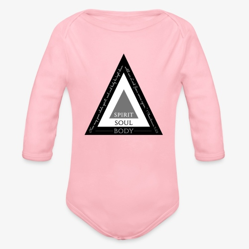 Spirit Soul Body - Organic Long Sleeve Baby Bodysuit