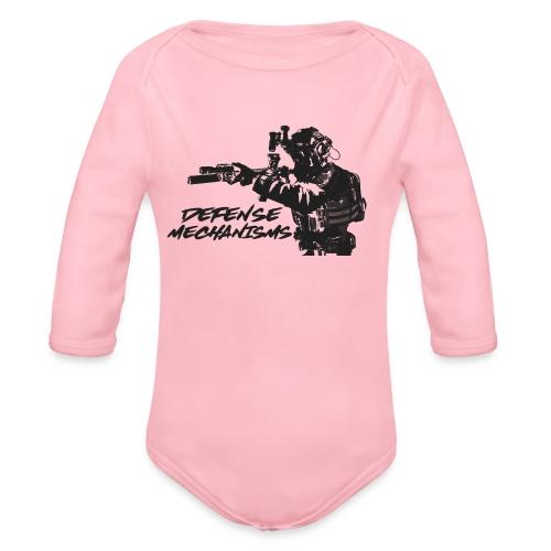 Defense Mechanisms: On Target - Organic Long Sleeve Baby Bodysuit