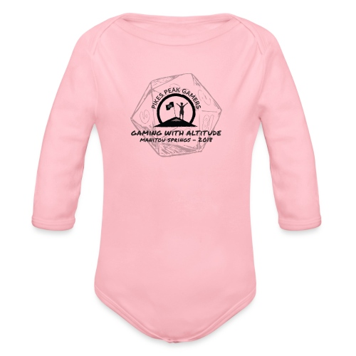 Pikes Peak Gamers Convention 2018 - Clothing - Organic Long Sleeve Baby Bodysuit