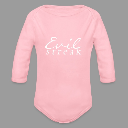 Evil Streak - Organic Long Sleeve Baby Bodysuit