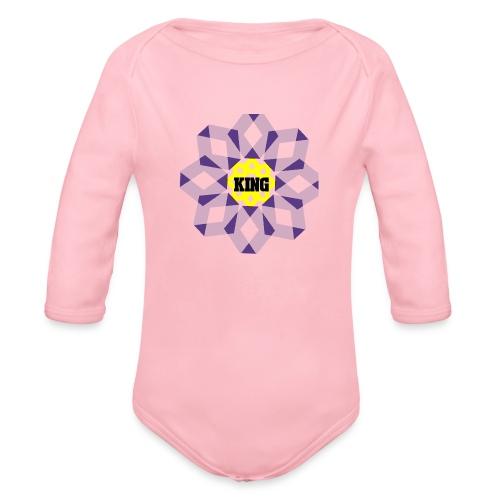 A big hugs!! - Organic Long Sleeve Baby Bodysuit