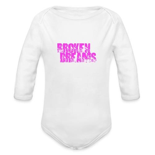 BROKEN DREAMS - Organic Long Sleeve Baby Bodysuit