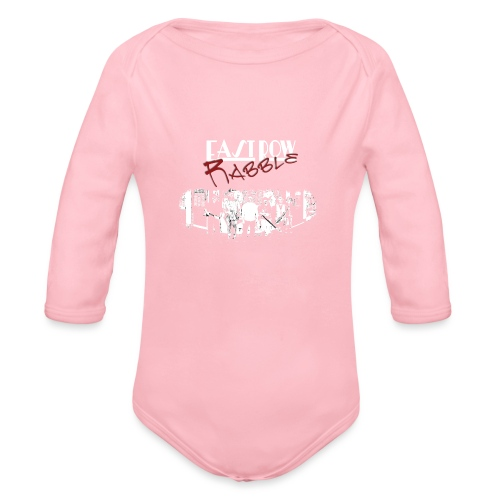 Phoenix Front - Organic Long Sleeve Baby Bodysuit