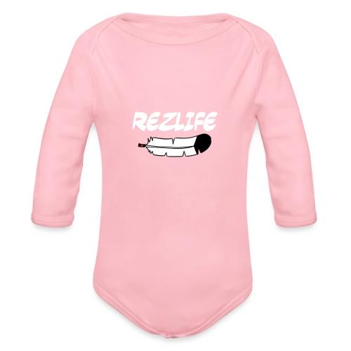 Rez Life - Organic Long Sleeve Baby Bodysuit
