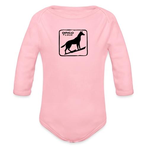 Dingo Flour - Organic Long Sleeve Baby Bodysuit