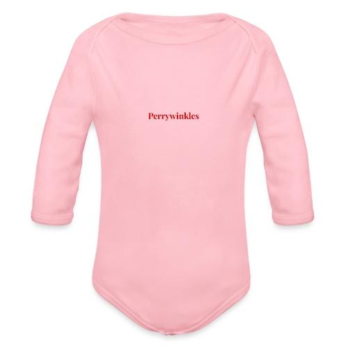 Perrywinkles - Organic Long Sleeve Baby Bodysuit
