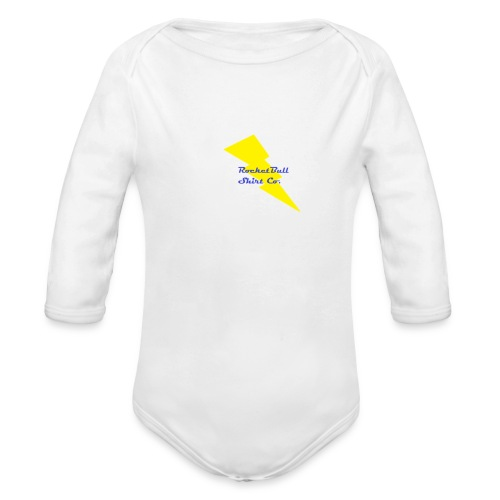 RocketBull Shirt Co. - Organic Long Sleeve Baby Bodysuit