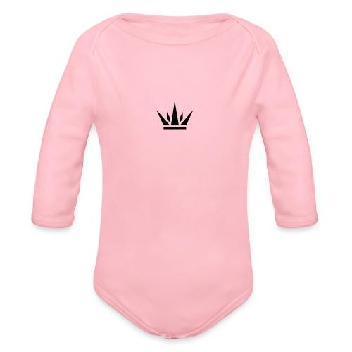 DUKE's CROWN - Organic Long Sleeve Baby Bodysuit