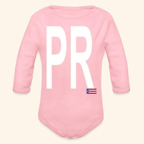 PRbyHaryCornier2 - Organic Long Sleeve Baby Bodysuit