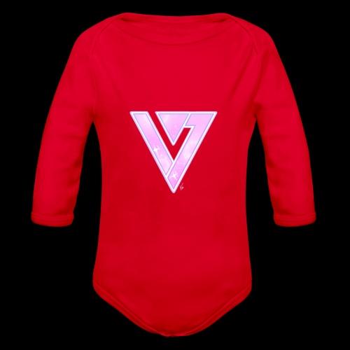 Seventeen Black T-Shirt - Organic Long Sleeve Baby Bodysuit
