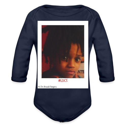 Hi I'm Ronald Seegers Collection-#LOCS - Organic Long Sleeve Baby Bodysuit