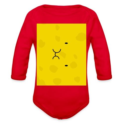 Spongy Case 5x4 - Organic Long Sleeve Baby Bodysuit