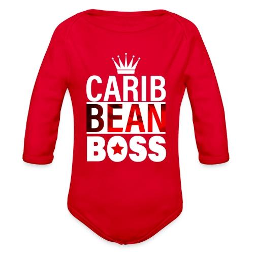 Caribbean Boss - Organic Long Sleeve Baby Bodysuit