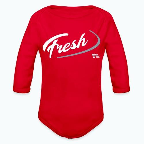 FRESH - Organic Long Sleeve Baby Bodysuit