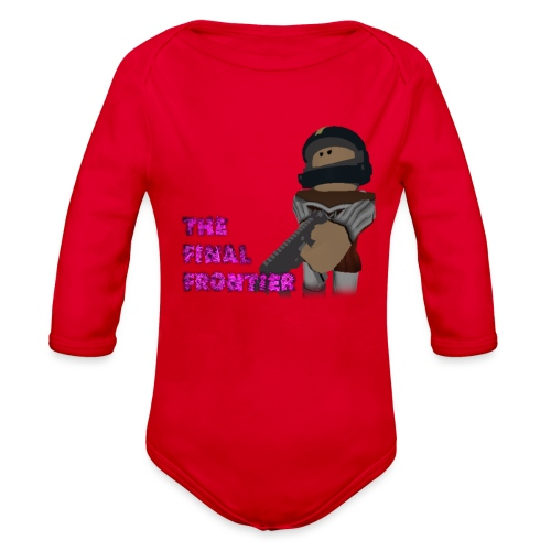 The Final Frontier - Organic Long Sleeve Baby Bodysuit