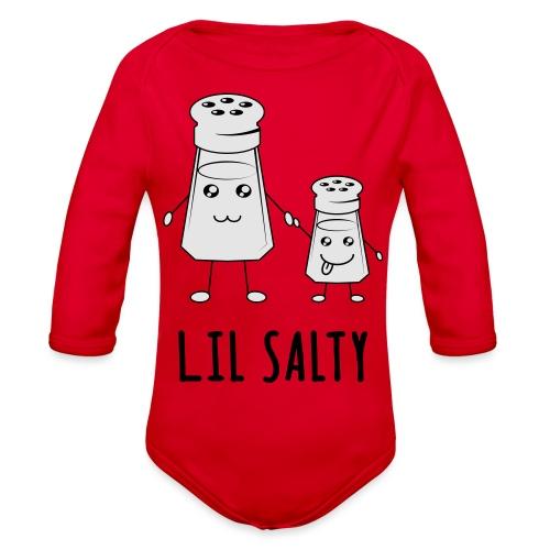 Lil Salty - Organic Long Sleeve Baby Bodysuit