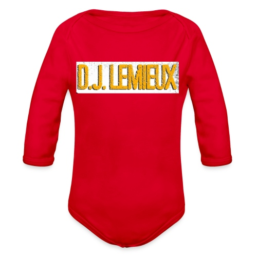 dilemieux - Organic Long Sleeve Baby Bodysuit