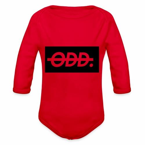 Odyssey Brand Logo - Organic Long Sleeve Baby Bodysuit