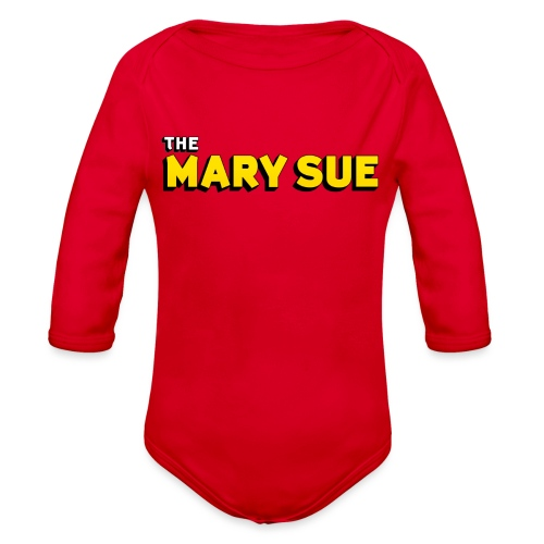 The Mary Sue V-Neck T-Shirt - Organic Long Sleeve Baby Bodysuit