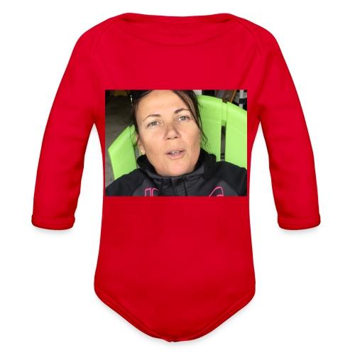 imag - Organic Long Sleeve Baby Bodysuit