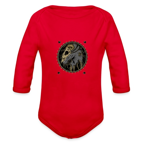 d8 - Organic Long Sleeve Baby Bodysuit