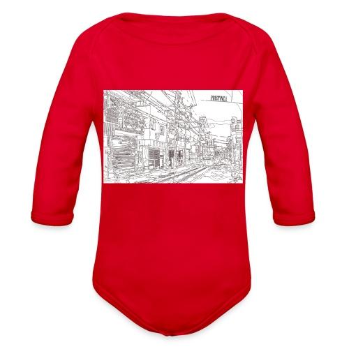 StreetLines - Organic Long Sleeve Baby Bodysuit