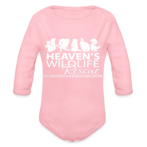 HWR White - Organic Long Sleeve Baby Bodysuit