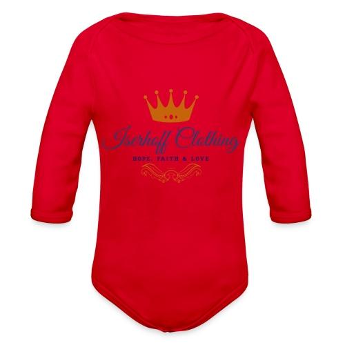 Iserhoff Clothing - Organic Long Sleeve Baby Bodysuit