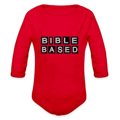 Bible Based - Organic Long Sleeve Baby Bodysuit