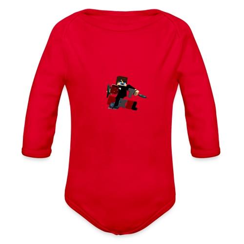 Batpixel Merch - Organic Long Sleeve Baby Bodysuit