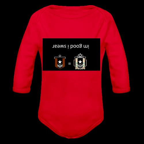 imgudiswear - Organic Long Sleeve Baby Bodysuit