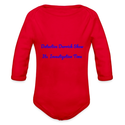 DDS - Organic Long Sleeve Baby Bodysuit